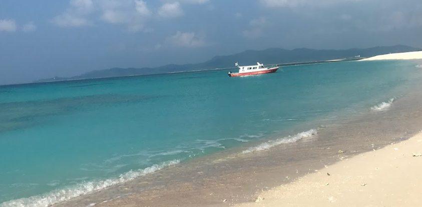 久米島からはての浜ツアーに参加した!ハテノ浜よりナカノ浜が良い?