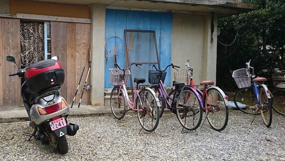 波照間島はレンタルバイクだと超快適!原付き以外に二人乗りもあった!